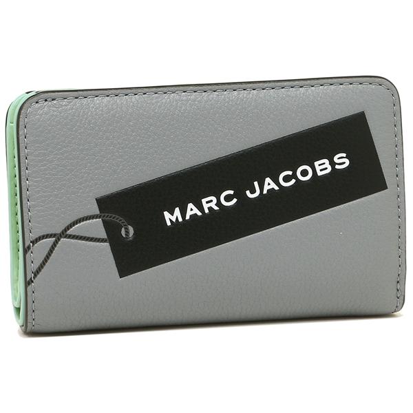 【4時間限定ポイント10倍】マークジェイコブス 折財布 レディース MARC JACOBS M0014744 034 グレー