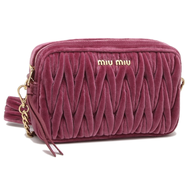 ミュウミュウ ショルダーバッグ レディース MIU MIU 5BH118 068 F0BQT ピンク