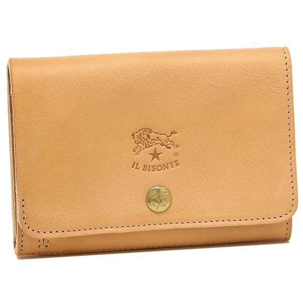 イルビゾンテ 折財布 レディース IL BISONTE C0521P 120 ナチュラル