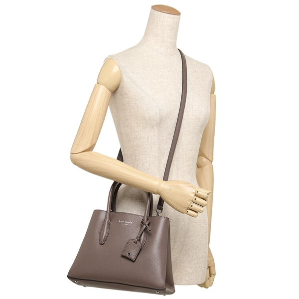 fe42bdc47a ... Kate spade tote bag shoulder bag outlet Lady's KATE SPADE WKRU5697 221  light beige ...
