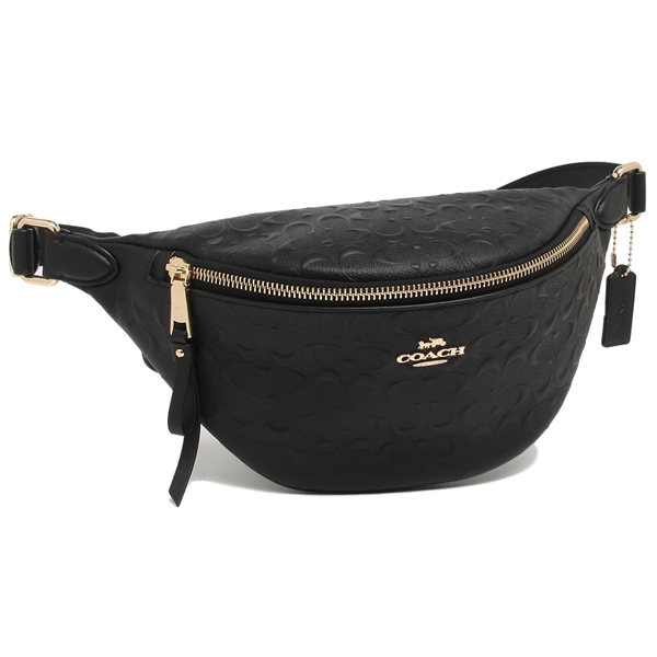 300d583512a Coach bum-bag outlet Lady's COACH F48741 IMBLK black