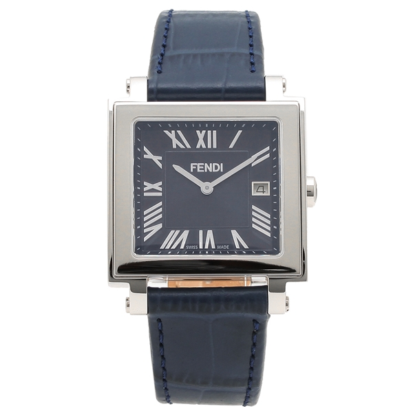 フェンディ 腕時計 メンズ FENDI F604013031 ネイビーブルー