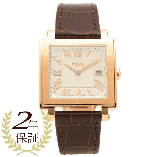 【期間限定ポイント5倍】【返品OK】フェンディ 腕時計 メンズ FENDI F604514021 ブラウン
