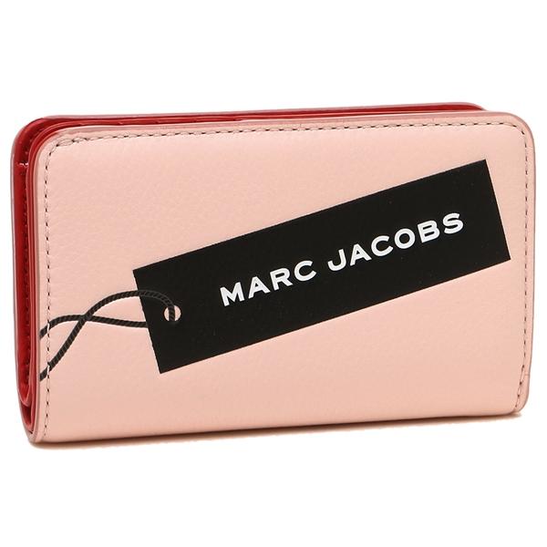 マークジェイコブス 折財布 レディース MARC JACOBS M0014744 654 ピンク