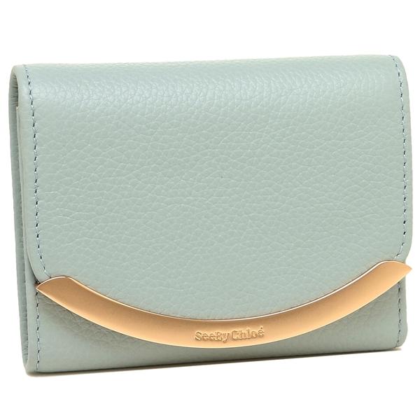 シーバイクロエ 折財布 レディース SEE BY CHLOE CHS17WP580349 41N ブルー