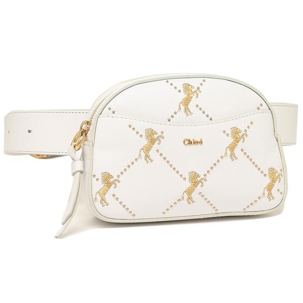 クロエ CHLOE CHC19SS121A56 100 ホワイト