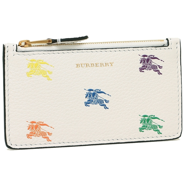 バーバリー カードケース メンズ レディース BURBERRY 8007753 A2014 ホワイト