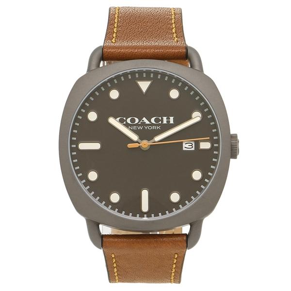 【返品OK】コーチ 腕時計 メンズ COACH 14602140 ブラウン ブラック
