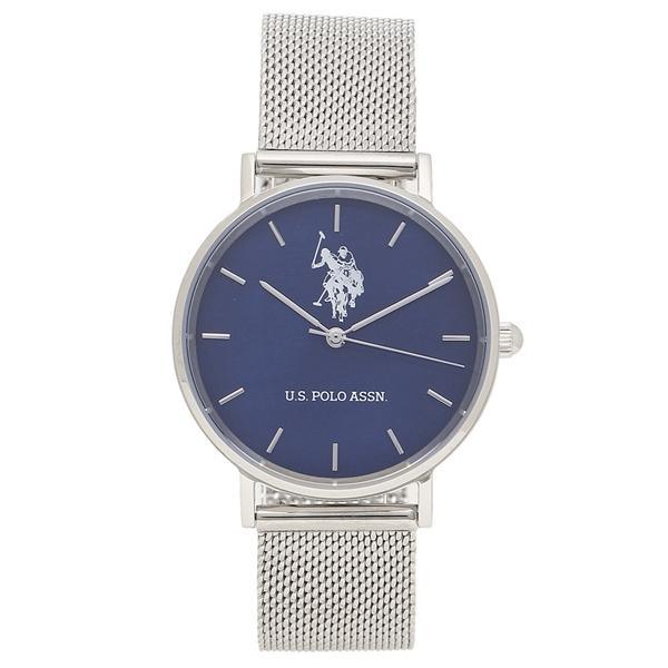 ユーエスポロ 腕時計 レディース メンズ US シルバー POLO ASSN レディース US-1A-BLSS シルバー 腕時計 ブルー, サイクリー:1e874764 --- sunward.msk.ru