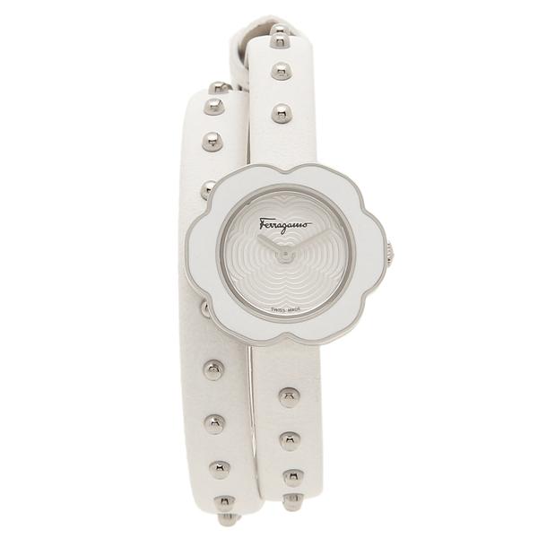 フェラガモ 腕時計 レディース Salvatore Ferragamo SFCS00118 ホワイト