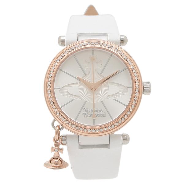 【6時間限定ポイント10倍】【返品OK】ヴィヴィアンウエストウッド 腕時計 レディース VIVIENNE WESTWOOD VV006RSWH ライトグレー