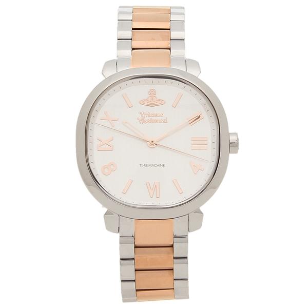 【返品OK】ヴィヴィアンウエストウッド 腕時計 レディース VIVIENNE WESTWOOD VV214RSSL シルバー ローズゴールド