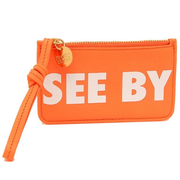 シーバイクロエ 868 コインケース レディース コインケース オレンジ SEE BY CHLOE CHS19UP867388 868 オレンジ, ガーデンショップはなぶん:63e9406f --- sunward.msk.ru