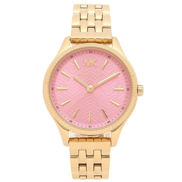 マイケルコース 腕時計 レディース MICHAEL KORS MK6640 イエローゴールド ピンク