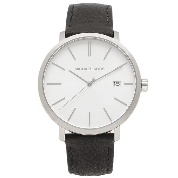 【返品OK】マイケルコース 腕時計 メンズ MICHAEL KORS MK8674 ブラック シルバー