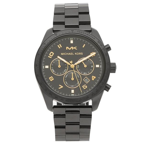 【返品OK】マイケルコース 腕時計 メンズ MICHAEL KORS MK8684 ブラック