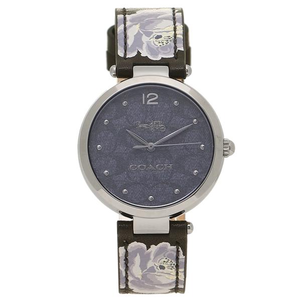 COACH 腕時計 レディース コーチ 14503177 ブラック シルバー