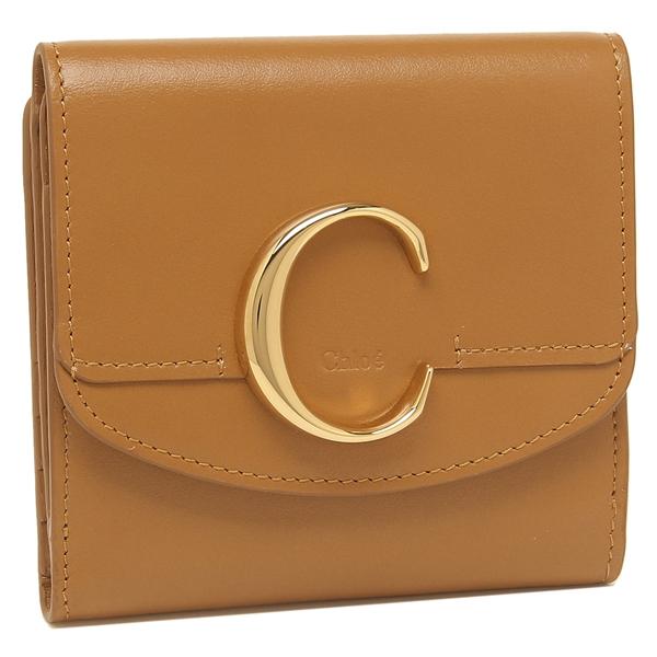 クロエ 折財布 レディース CHLOE CHC19SP056A37 ブラウン