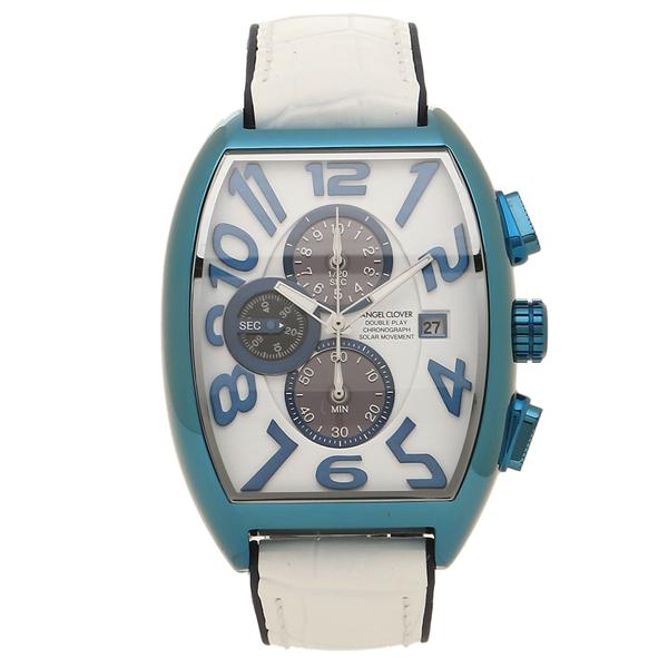 経典ブランド エンジェルクローバー メンズ 腕時計 メンズ ソーラー CLOVER ANGEL CLOVER DPS38BNV-WH ソーラー ホワイト ネイビー, 大潟村:febaffcf --- mokodusi.xyz
