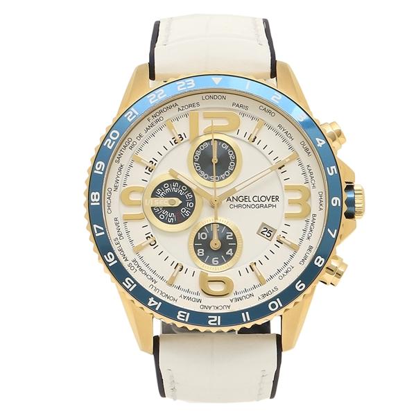 【返品OK】エンジェルクローバー 腕時計 メンズ ANGEL CLOVER MO44YNV-WH ホワイト ネイビー