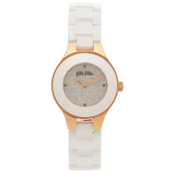 フォリフォリ 腕時計 レディース FOLLI FOLLIE WF16R045BZS ホワイト ホワイト