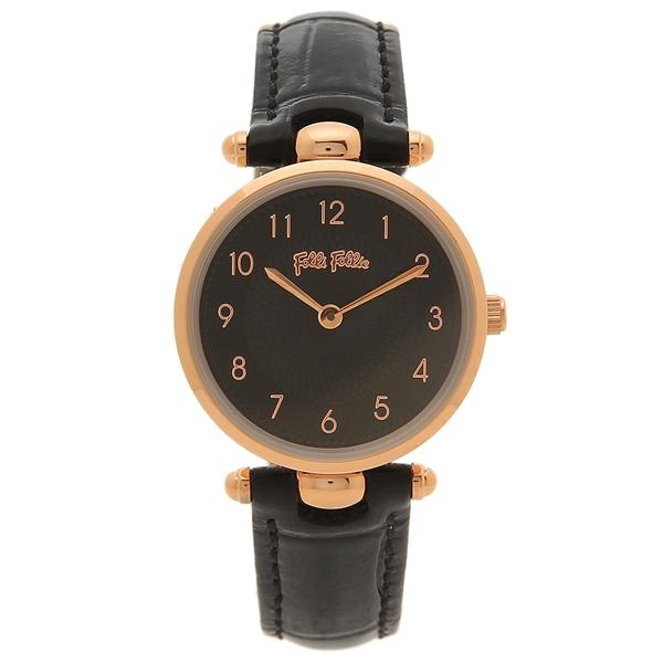 フォリフォリ 腕時計 レディース FOLLI FOLLIE WF17R014SSK-BK ブラック ブラック