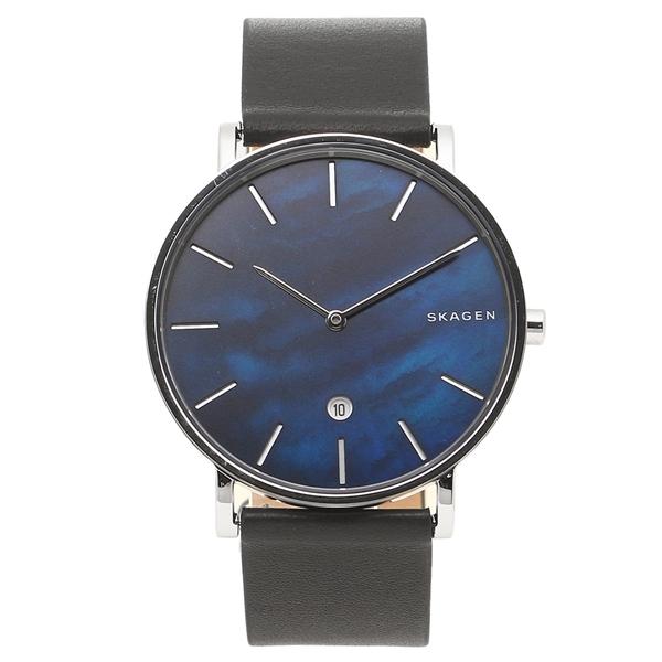 スカーゲン 腕時計 メンズ SKAGEN SKW6471 ネイビー ブラック