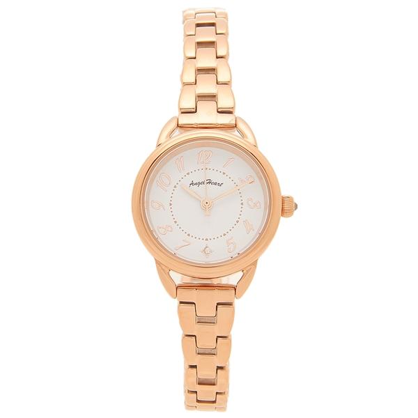 【返品OK】エンジェルハート 腕時計 レディース ソーラー ANGEL HEART FS25PG ピンクゴールド ホワイト