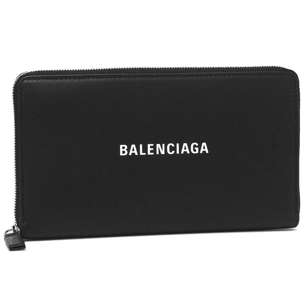 【9時間限定ポイント10倍】【返品OK】バレンシアガ 長財布 レディース BALENCIAGA 551935 DLQ4N 1000 ブラック