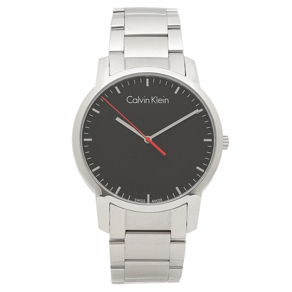 カルバンクライン 腕時計 メンズ CALVIN KLEIN K2G2G1.41 シルバー ブラック