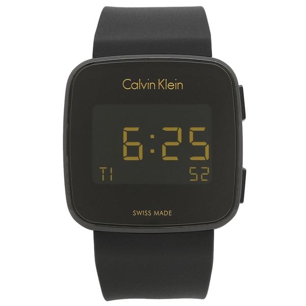 カルバンクライン 腕時計 メンズ CALVIN KLEIN K5C214.D1 ブラック