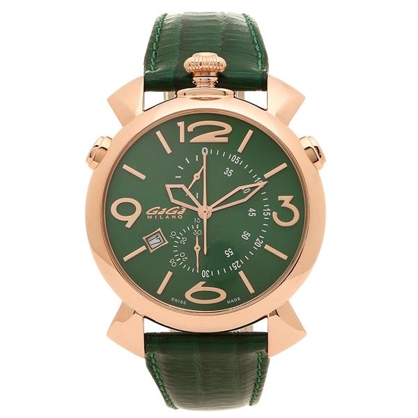 ガガミラノ 腕時計 メンズ GAGA MILANO 5098.05 グリーン