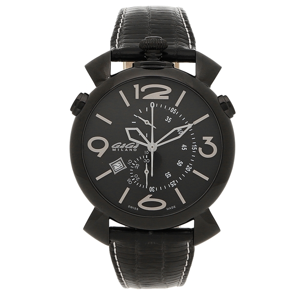 ガガミラノ 腕時計 メンズ GAGA MILANO 5099.01BK-NEW-N ブラック ホワイト
