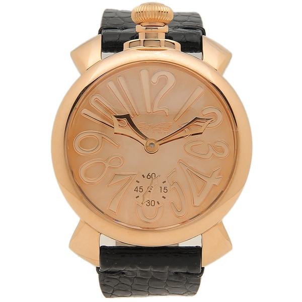 【9時間限定ポイント10倍】【返品OK】ガガミラノ 腕時計 メンズ 自動巻き GAGA MILANO 5211MIR01 ブラック