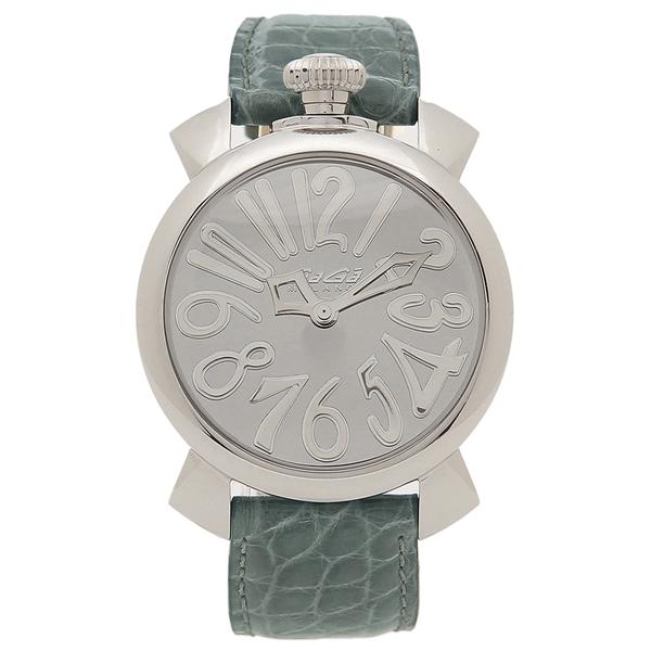 【6時間限定ポイント10倍】【返品OK】ガガミラノ 腕時計 レディース メンズ GAGA MILANO 5220.MIR.01-GRN グリーン グレー
