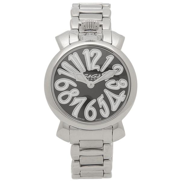 ガガミラノ 腕時計 レディース GAGA MILANO 6020.6 シルバー ブラック