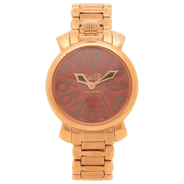 【期間限定ポイント5倍】【返品OK】ガガミラノ 腕時計 レディース GAGA MILANO 6021.4 レッド