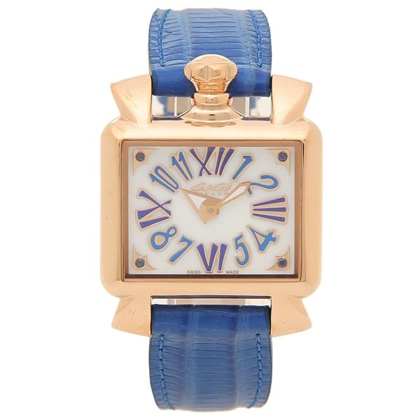 ガガミラノ 腕時計 レディース GAGA MILANO 6036.04 ブルー ホワイト