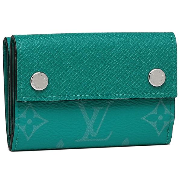 ルイヴィトン 折財布 メンズ LOUIS VUITTON M67626 グリーン