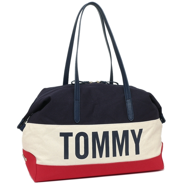 トミーヒルフィガー ボストンバッグ アウトレット メンズ レディース TOMMY HILFIGER W86948392 467 ネイビーマルチ