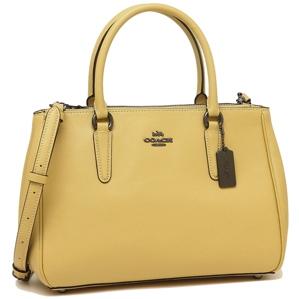 Coach Tote Bag Shoulder Outlet Lady S F44958 Qbsnf Yellow