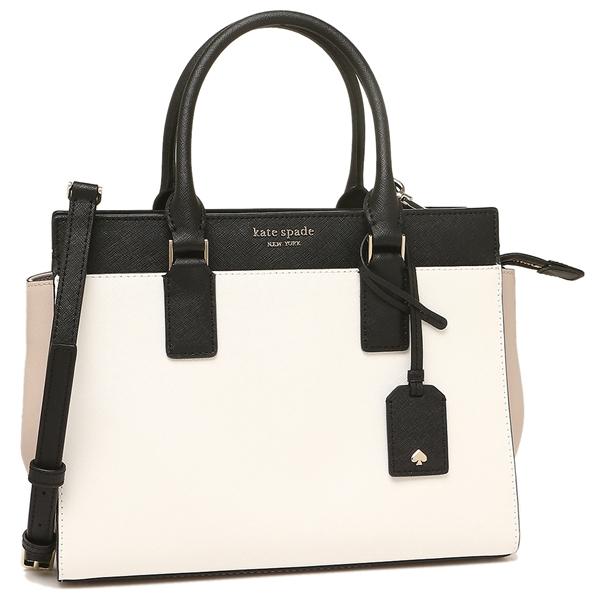 Kate Spade Tote Bag Shoulder Outlet Lady S Wkru5852 132 White Light Beige Black