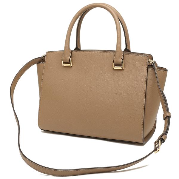 Michael Kors Tote Bag Shoulder Outlet Lady S 35h8glms2l Dk Khaki Beige