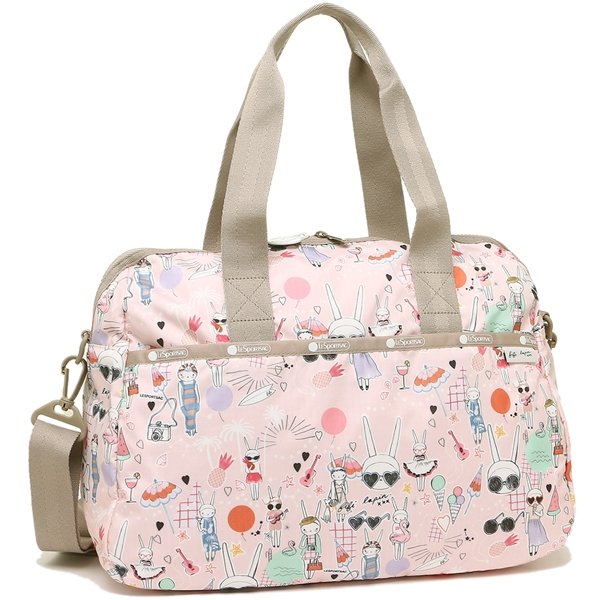 Reply Port Case Boston Bag Shoulder Lady S Lesportsac 3356 G621 Fifi Pool Party