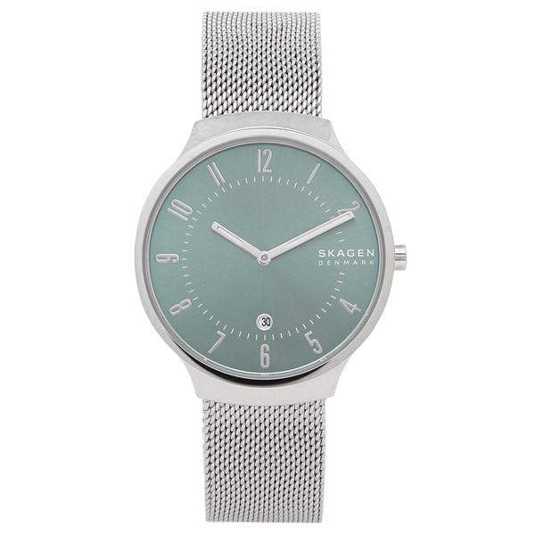 【6時間限定ポイント10倍】【返品OK】スカーゲン 腕時計 メンズ SKAGEN SKW6521 シルバー ブルー