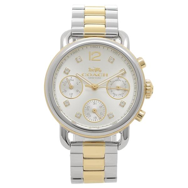 【返品OK】コーチ 腕時計 レディース COACH 14502946 シルバー ゴールド