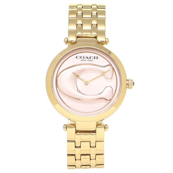 【72時間限定ポイント10倍】【返品OK】コーチ 腕時計 レディース COACH 14503211 ゴールド