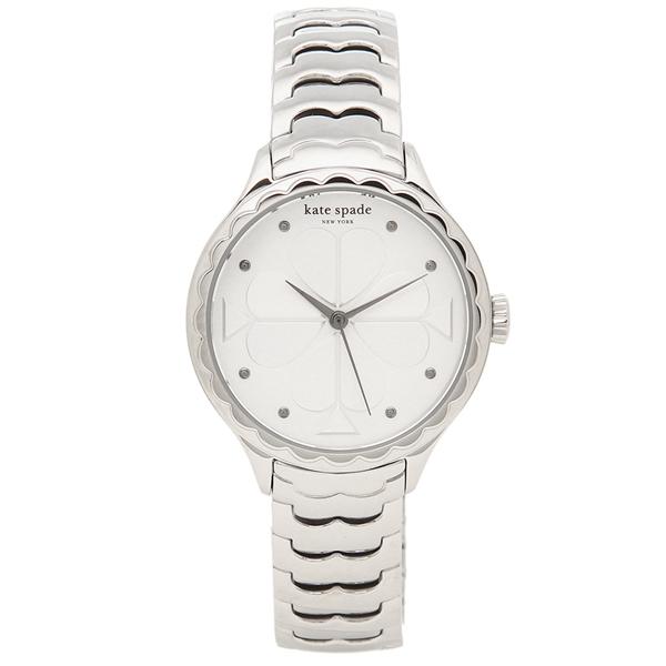 【6時間限定ポイント10倍】【返品OK】ケイトスペード 腕時計 レディース KATE SPADE KSW1505 シルバー