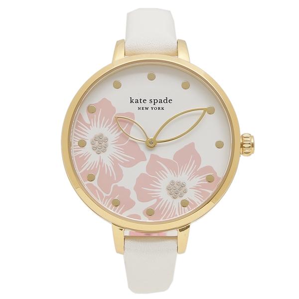 【返品OK】ケイトスペード 腕時計 レディース KATE SPADE KSW1511 ホワイト ゴールド ピンク