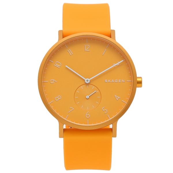 【返品OK】スカーゲン 腕時計 メンズ SKAGEN SKW6510 イエロー